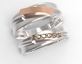 3D print model point ring