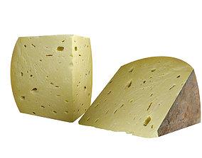 gastro 3D model Cheese