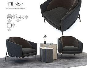 3D model Minotti Filnoir