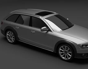 Audi a4 quattro allroad 3D model