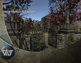 3D model Horror Mansion Full Version