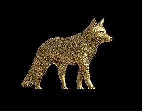 Bust of a fox 3D print model