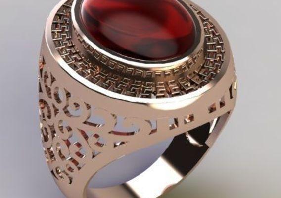 Chinese ring pattern