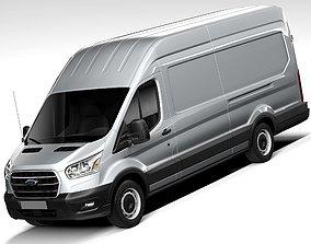 panel 3D Ford Transit LWB Extended 2020
