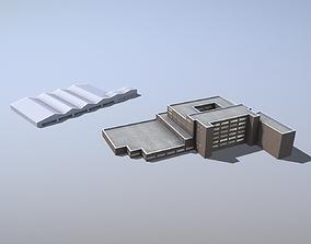 3D model Building EDDF Storages33 Frankfurt Airport