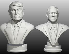 3D print model Trump Pence pack