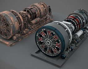 separator Machinery device 3D model PBR