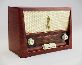 3D Vintage radio from 1956