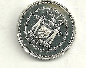 Texture set of 2 coin types of Belize 3D