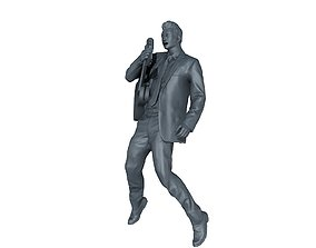 Elvis Presley 3D printable model