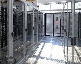 Data Center 2 3D model