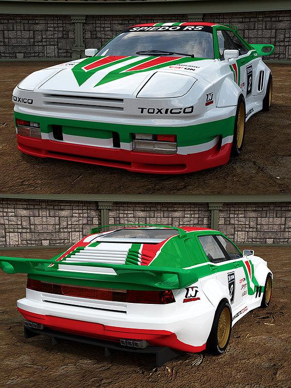 SPIEDO STRATOS 964 RACE CAR