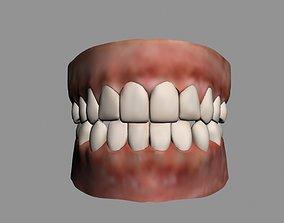 realtime teeth 3d model