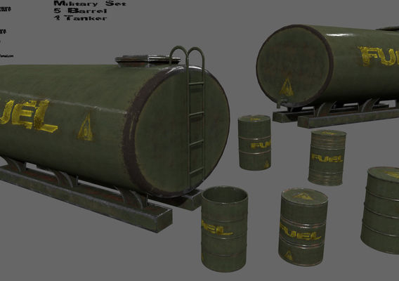 military fuell set