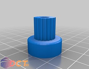 Various sizes of pulleys 3D print model