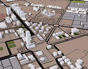 Al Fujairah City UAE 3D model