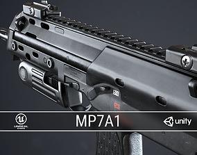 PBR MP7A1 PDW 3D asset realtime