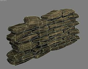 3D model SandBag ww2