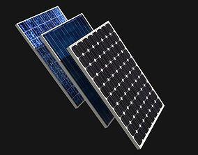 3D model eco Solar Panel