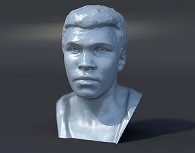 Muhammad Ali 1964 3D print model sculpture