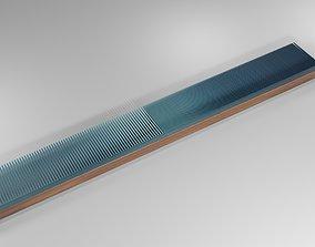 Wooden Comb 3D