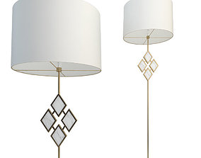 Robert Abbey Lighting with Edward Floor Lamp 3D