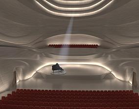 3D model Concert Hall Interior