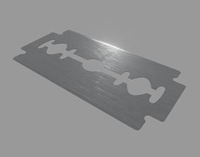 3D asset Razor Blade