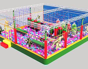 playground NINJA PARK 3D model