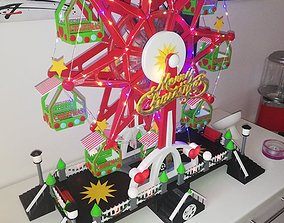 Christmas Ferriswheel BIG 3D PRINT hobby-diy