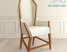 Purcell Living Bias Hooded chair 3D