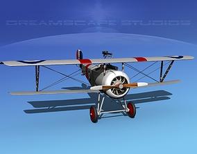 Nieuport 17 Fighter V06 RAF 3D