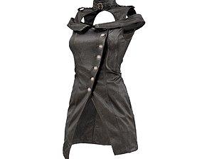 3D model Shoulder Straps Dress