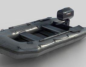 ASSAULT BOAT 3D model