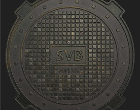 3D Sewer Hatch