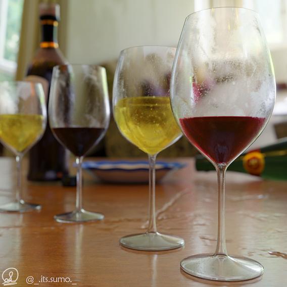 Some wine