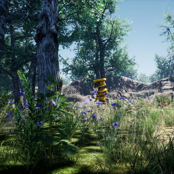 My Scene Work for Robowork Game