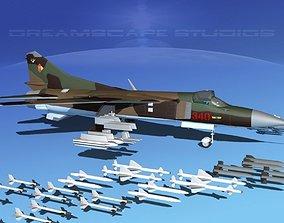 Mig 23 Flogger B V13 East Germany 3D