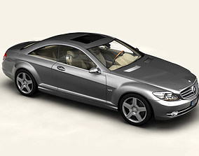 Mercedes CL-Class 3D