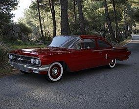 3D model Chevrolet Biscayne 2-Doors Sedan 1960