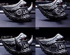 3D printable model Face mask - Samurai Covid