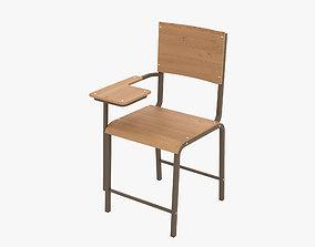 3D Classroom Chair education