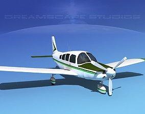 3D model Piper Cherokee Six 260 V05