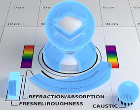 Hologram Shader 3D asset game-ready