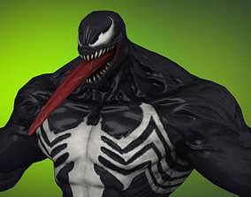 3D model Gameready Venom MSF 05 max fbx obj png tga