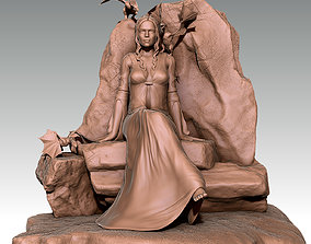 3D print model Daenerys
