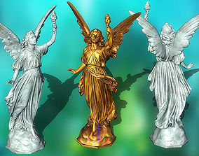 game-ready 3DRT - Ancient statues pack