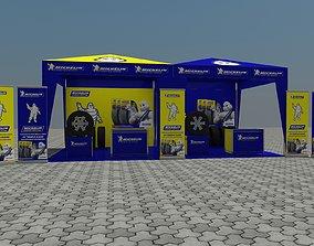 Tent 3x3 3D model
