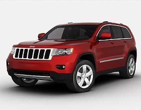 Jeep Grand Cherokee 2012 3D model