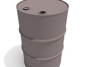 3D Classic Oil Barrel